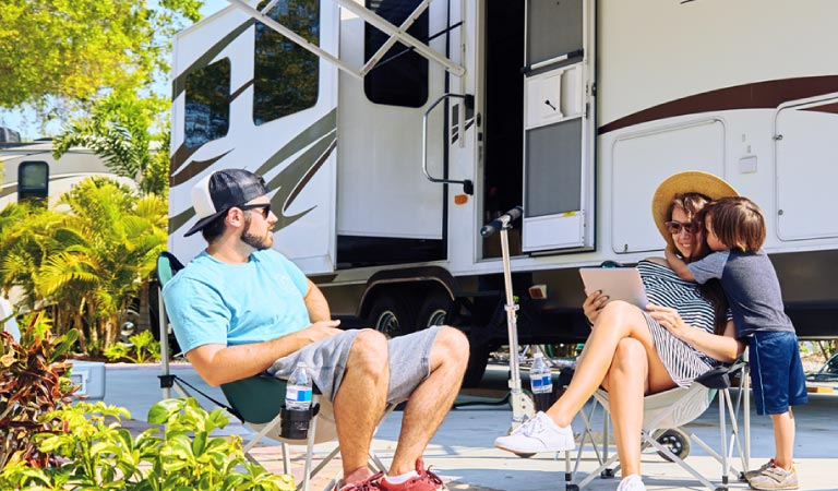 The Personal offers group insurance protections specific to each type of recreational vehicles or RV.